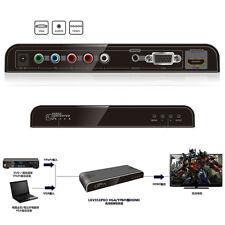 Adaptateur Convertisseur VGA + Audio + YUV YPbPr à HDMI 1080P / LKV351PRO