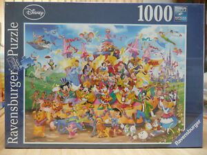 RAVENSBURGER  DISNEY PUZZLE. CARNIVAL- 1000 PIECES - BRAND NEW & SEALED