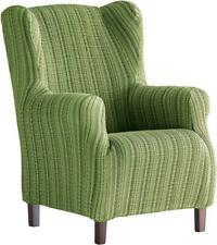 Martina Home Haber Elastic Armchair Cover Wing Chair 33x42x8 cm green