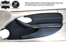 Punto BLANCO 2X Tarjeta de Puerta Frontal Recortar Cubiertas De Cuero adapta Pontiac Firebird 93-02
