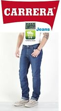 ★ Carrera PANTALONE JEANS UOMO DENIM STRETCH 11oz MOD 700 stone wash blu medio ★
