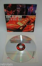 Eric Clapton Live In Hyde Park   Laserdisc NTSC English   LD: Fast wie Neu