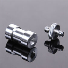 "3in1 1/4"" 3/8"" screw & 5/8"" Spigot Stud convert Adapter for Camera Tripod Stand"