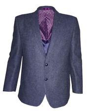 Ropa de hombre azules, 100% lana, Talla 50