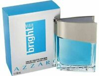 BRIGHT VISIT by Azzaro 1.0 oz EDT eau de toilette Men's Spray Cologne NIB 30 ml