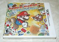 Paper Mario: Sticker Star for Nintendo 3DS Brand New Fast Shipping
