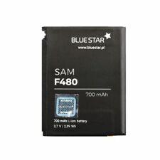 Bluestar Akku für Samsung F480 - Z400 - Z400V - SGH-F480700 AB553446CU Accu
