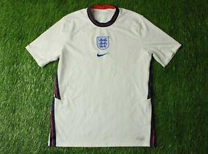 ENGLAND NATIONAL TEAM 2020/2022 FOOTBALL SHIRT JERSEY HOME NIKE ORIGINAL SIZE M
