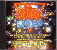 Compilation - Le Studio Night Club 93 Vol. 2 - CD - 1993 - Eurodance Atoll Music