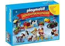 Playmobil - Calendario de adviento Papa Noél en la cranja Santa Claus Farm 6624