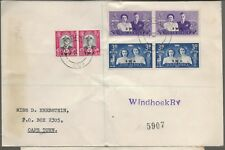 1947 South West Africa Royal Visit FDC Cover