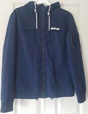 Mens McKenzie Navy Spring Summer Windproof Jacket Size M