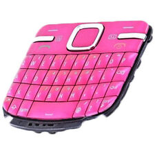 KIT RICAMBIO TASTI TASTIERA per NOKIA C3-00 C300 ROSA PINK Cover Guscio Keypad