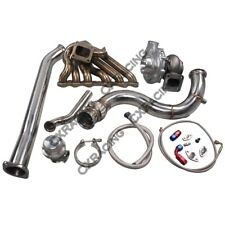 T70 Turbo Manifold Downpipe For Subaru BRZ Scion FRS 2JZ-GTE Swap 2JZGTE