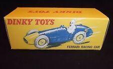 Dinky 23H Ferrari Racing Car Empty Repro Box