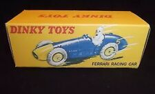 Dinky 23h Ferrari Racing Car vacío Repro De Caja