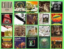 LED ZEPPLIN ALBUM COVERS,  20 PHOTO FRIDGE MAGNETS