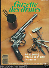 ARMES CIBLES n 199 MAS 36 LE PHENIX SHERMAN FG 42