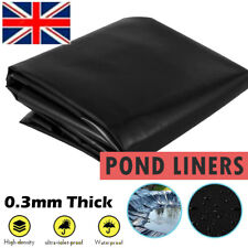 More details for 40 year guarantee strong fish pond liner garden pool membrane landscaping uk