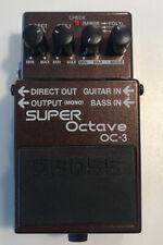 Boss OC-3 Super Octave Processeur D'Effets