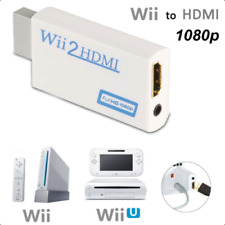 Wii to HDMI Adapter Converter Full HD 1080P Video 3.5mm Audio Output For HDTV 5C