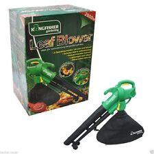 Kingfisher jardinage souffleur / aspirateur feuille herbe jardin de yard vide home cleaner 2600W