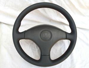 Honda Civic EK JDM New Leather Steering Wheel CTR EK3 EK4 Type R VTI SIR EK9 EM1