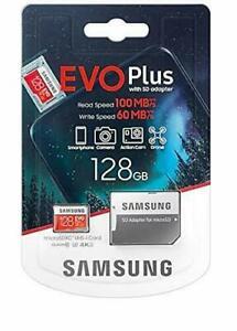 Samsung Memory 128GB EVO Plus Micro SDXC UHS-1 card with Adapter Class 10 -UK