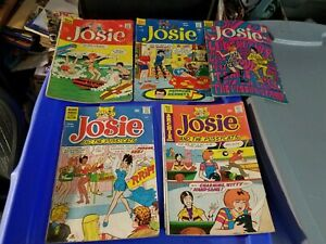 5 Bronze Age Archie JOSIE 21 28 34 48 87 Comic Books