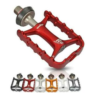 Bicycle Pedals Quick Release Road Bike Ultralight MTB Cruisers Cycling Bearing