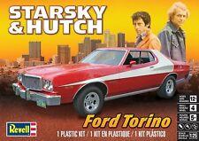 REVELL 1976 Ford Gran Torino STARSKY & HUTCH Car 1/25 Scale Detailed Model Kit