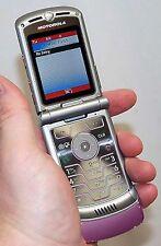 Motorola Razr V3m V3 VERIZON Cell Phone Razor PINK razer flip camera vCast -B-