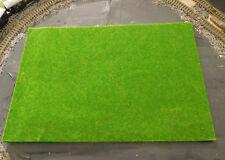 3 herbstgrüne Grasmatten, Rasenmatten, 20 x 30 cm
