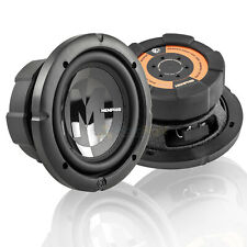 """2 Pack Memphis Audio 6.5"""" Subwoofer 300W Max Dual 2 Ohm Power Reference PRX6D2"""