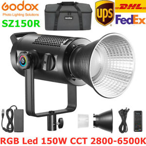 Godox SZ150R RGB Led Video Light 150W CCT 2800-6500K RGB Photography Video Light