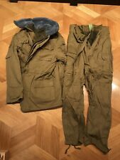 USSR Size 50/6 Winter Afghanka Suit Jacket+Pants (ORIGINAL) mint condition 1989