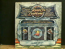 ANDY ROSS  Keep On Dancing  LP   Disco Funk Easy    Great  !