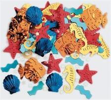 (2,-€/10g) Konfetti SEA LIFE  Streuelemente Tisch Dekoration Beach Strand Party