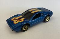 Hotwheels Ferrari 308 GTB Blue Vintage! Very Rare!