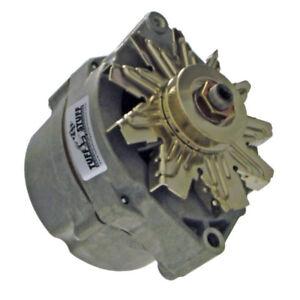 Tuff Stuff Alternator 7102; External Regulator OE-Wire Cast+ 80 Amp