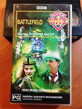 DR WHO - BATTLEFIELD - SYLVESTER Mc COY - VHS