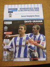 18/02/2006 Huddersfield Town V MK DONS (oggetto in buone condizioni)