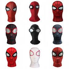 Spiderman Cosplay Peter Parker Eyemask Full Face 3D Helmet Accessories Props