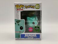 Bulbasaur 453 - 2020 FLOCKED | Funko Pop! Vinyl | Pokemon | SECURELY PACKAGED