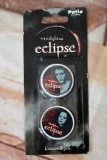 Twilight Eclipse rubber / Erasers 2 pcs