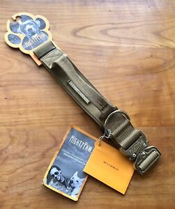 Mighty Paw Tactical Dog Collar Heavy Duty Pet Training Collar with Built-in NEW!