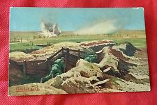 """M289  RARA Cartolina militare GRANDE GUERRA G. Gheduzzi """"Annunzio di un assalto"""""""
