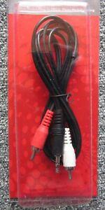 5  m Audio Kabel - 3,5mm Klinke auf 2x Cinch - RCA zu Jack, Chinch zu AUX Klinke