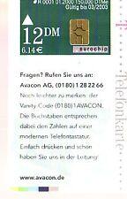 Telefonkarte Deutschland R 01 /2000 gut erhalten + unbeschädigt (intern:2127)