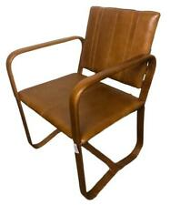'The Adventurer' Dining Chair with Arms - Full Leather - Vintage Inspired